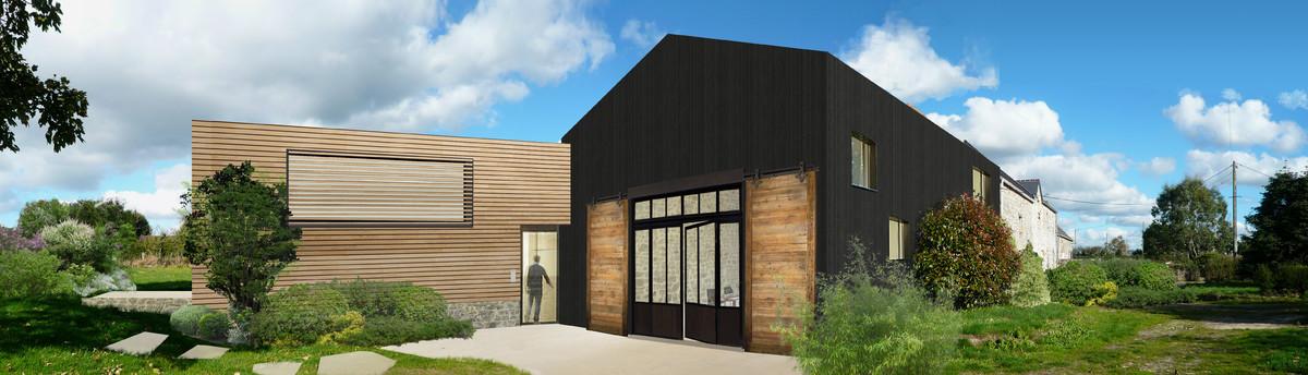 archipel architectures les moitiers d 39 allonne fr 50270. Black Bedroom Furniture Sets. Home Design Ideas