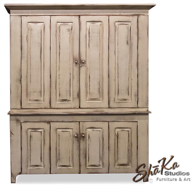 Fairfield 65 inch TV Cabinet | Custom Entertainment Center