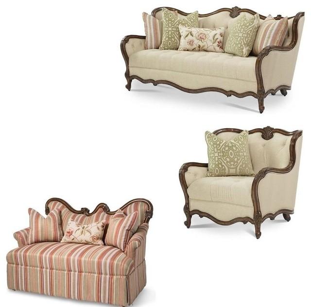 Lavelle Melange Living Room Set, 3-Piece