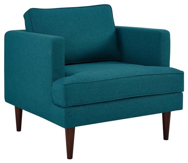 Peachy Modern Contemporary Urban Living Armchair Accent Chair Aqua Blue Cjindustries Chair Design For Home Cjindustriesco