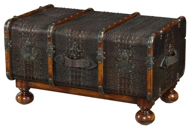 Admirable Steamer Trunk Coffee Table Evergreenethics Interior Chair Design Evergreenethicsorg