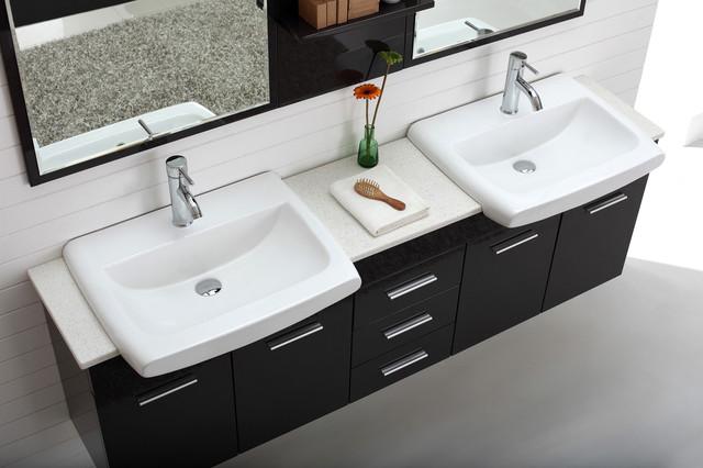 Double Basin Wall Hung Bathroom Vanity Roma – Wall Hung Bathroom Vanities