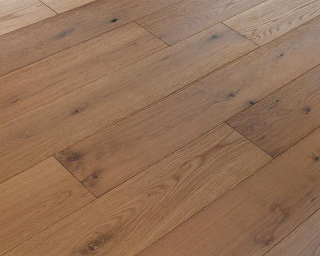 Ed Bauer Wide Plank Oak Random Length Flooring Fossil Brown 27 Sq Ft