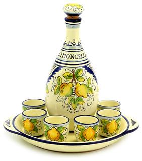 Limoncello Limoncello Set Mediterranean Liquor