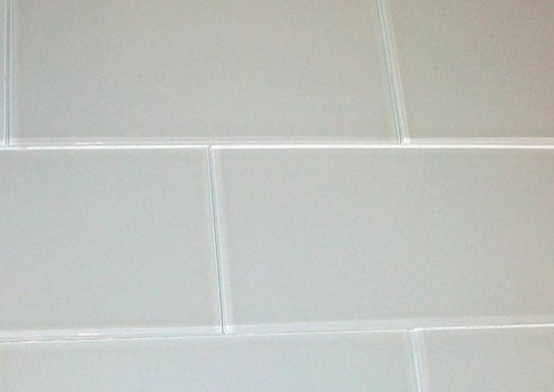 Can I Set Tiles Like This Without Grout On My Kitchen Backsplash