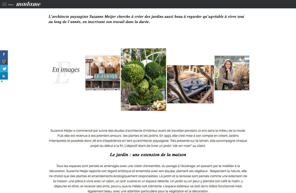 Parution presse Madame Figaro mars 2019