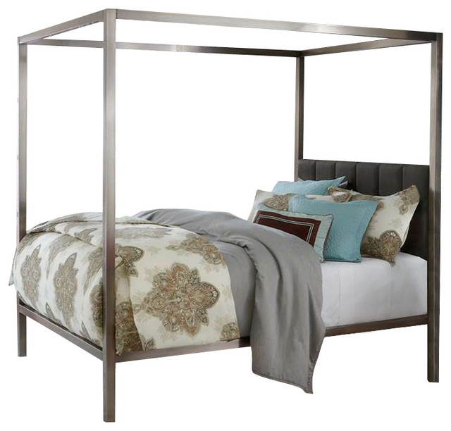 Chatham Bed Set With Rails Queen Modern Canopy Beds