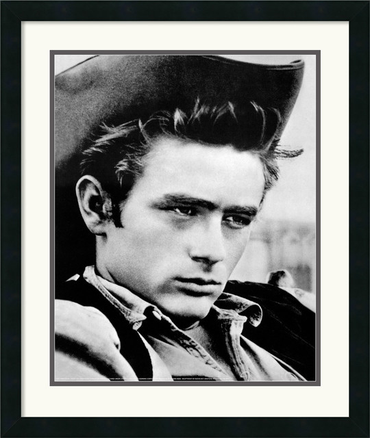 james dean black and white painting - photo #27