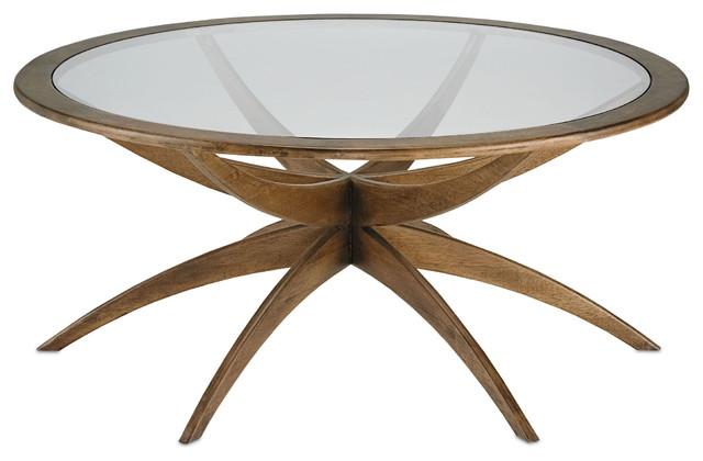 Mid Century Modern Coffee Table, Mid Century Round Coffee Table, Ellen Coffee Table