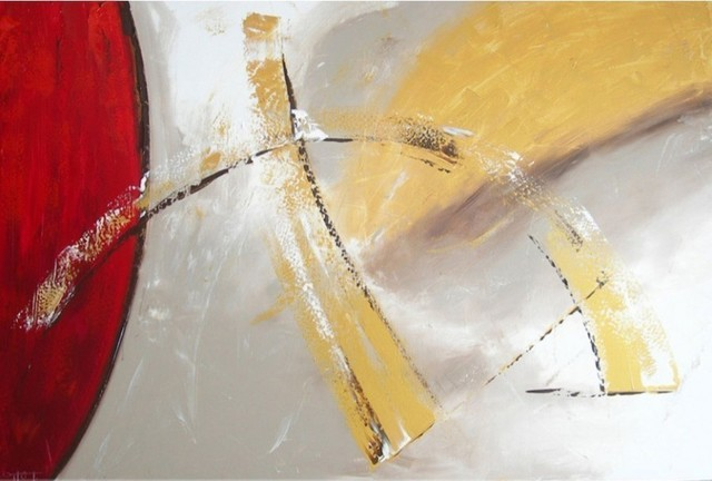 "Darco Arte ""quiete 160"" Painting, 59&x27;&x27;x39&x27;&x27;."