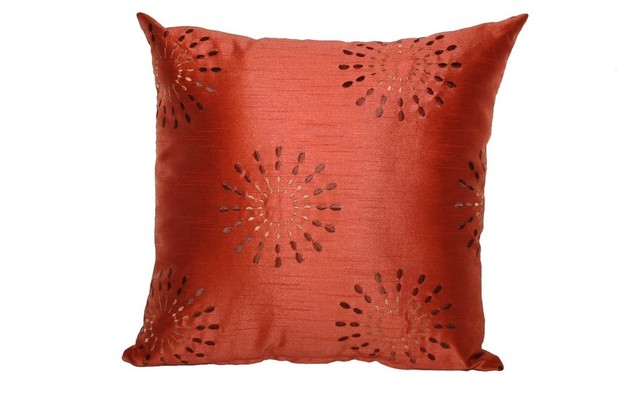 Goose Down Throw Pillows : Starburst Square Throw Pillow, 16x16 - Contemporary - Decorative Pillows - by Peter Taube Home
