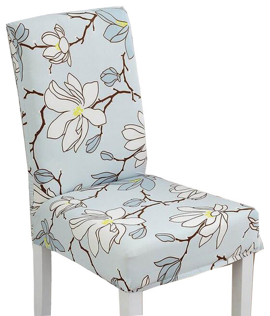 Pastoral Style Dining Chair Slipcover Chair Cover Chair