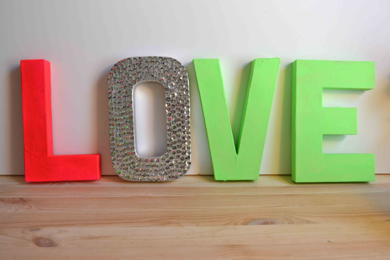 decorative letters home