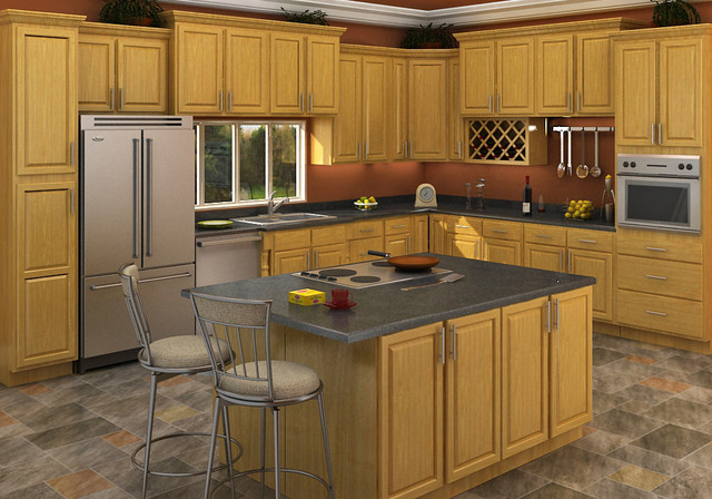 ziemlich honey oak kitchen cabinets brawny and beautiful dont let ...