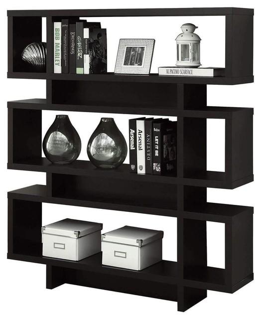 Bookcase 55 H Cappuccino Modern Style