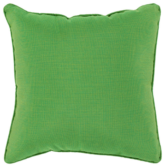 Piper Pillow 16x16x4 Contemporary Outdoor Cushions And