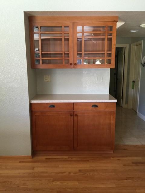 Kitchen Hutch - Designer: Debbie Peterson - Craftsman - Kitchen - San Francisco - by Closet ...