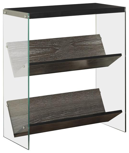 Soho Bookcase, Weathered Gray