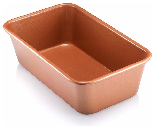 """Gotham Steel Bakeware, Loaf Pan, 9""""x4"""", With Nonstick Copper."""