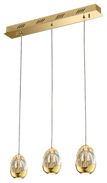 Storage Amp Organisation Home Office Furniture Home Office Accessories  Terrene 3-Lights Bar Pendant - Contemporary - Pendant Lighting - by ...