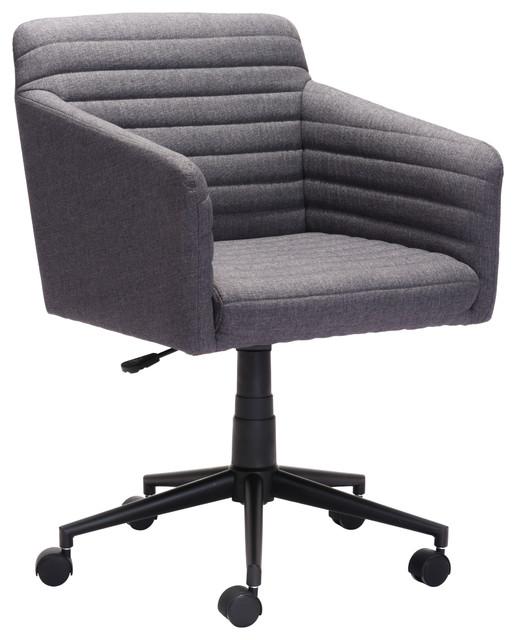 Bronx Office Chair, Dark Gray