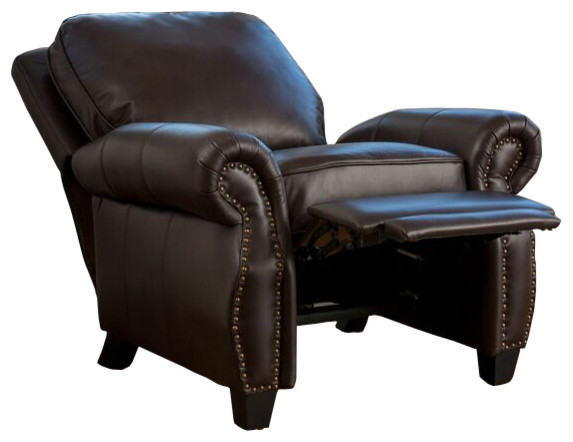 Shop Houzz – Leather Recliner Club Chairs