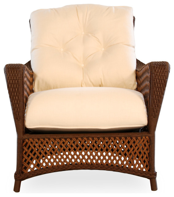 Lloyd Flanders Grand Traverse Lounge Chair Traditional Armchairs And Acce
