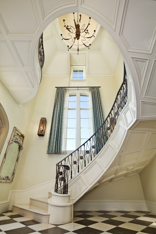 Dallas Luxury Residence traditional staircase