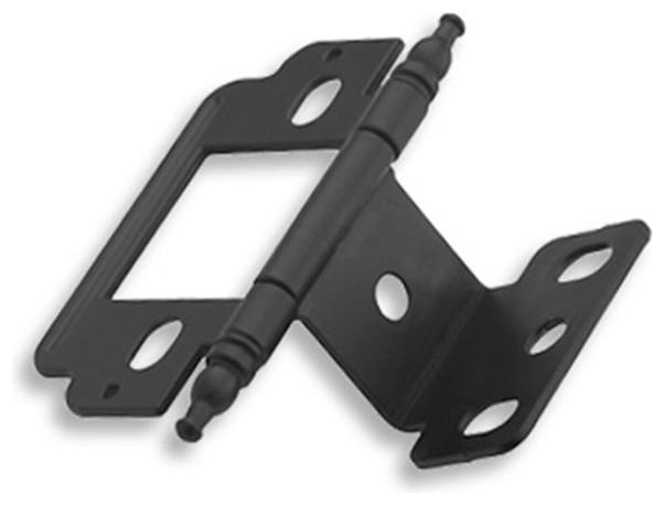 "Amerock Inset Hge Part Wrap 3/4"" Minaret-1 - Transitional - Hinges - by Woodworker's Hardware"