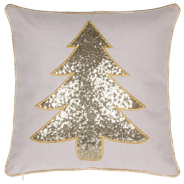 63047db9307 Christmas Tree Pillow - Contemporary - Decorative Pillows - by 14 Karat  Home