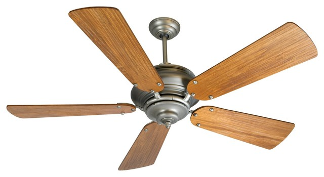 """Craftmade Townsend 54"""" Pewter Ceiling Fan With 5 Blades."""