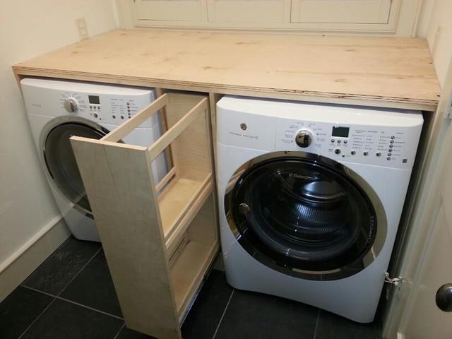 Ispirazione per una lavanderia chic