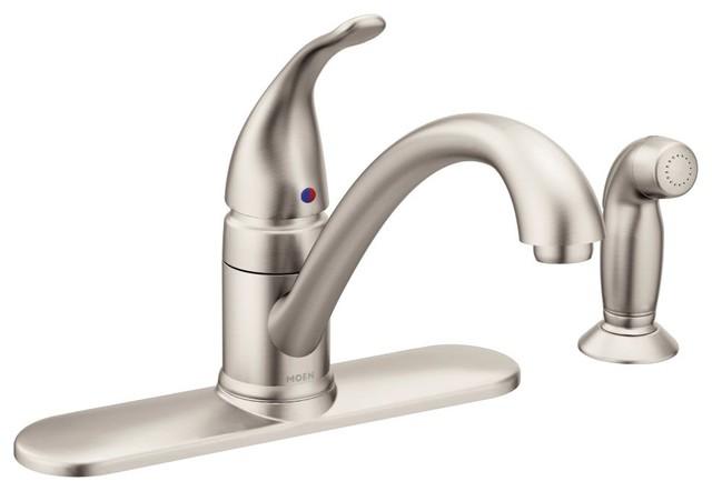 Moen Torrance Spot Resist Stainless 1-Handle Kitchen Faucet.