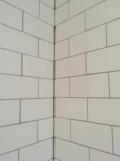 Poor Tile Grout Job Advice Please For Dark Grout