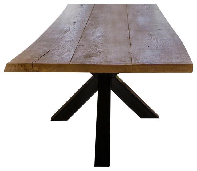 Aix Live Edge Dining Table, 100x200 Cm
