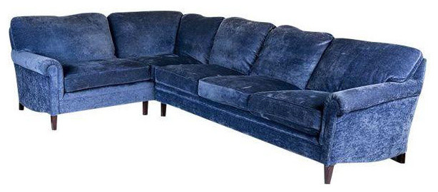 George Smith Sectional Sofa   $4,500 Est. Retail   $750 On Chairish.com  Contemporary
