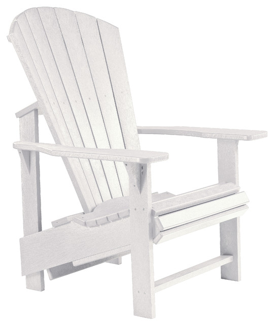 Sensational Generations Upright Adirondack Chair White Beatyapartments Chair Design Images Beatyapartmentscom