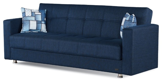Empire Furniture USA Miami Modern Fold Out Convertible Sofa Bed ...
