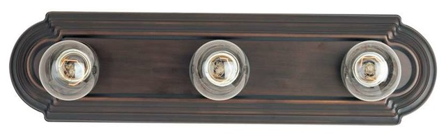 Maxim Essentials 3-Light Bath Vanity Oil Rubbed Bronze - 7123oi.
