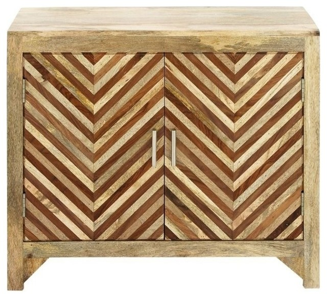 """Wood Cabinet, 34""""x29"""" - Transitional - Accent Chests And Cabinets - by Brimfield & May"""