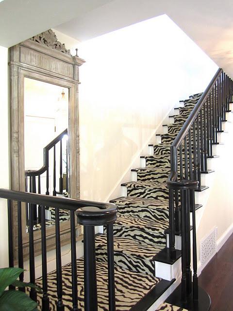 Zebra Carpet Traditional