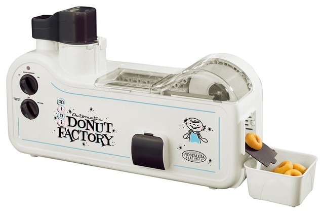 Shop Houzz | Nostalgia Products Automatic Mini Donut Factory