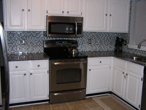 Caledonia Granite, White Cabinets......what Color Backsplash Amazing Ideas