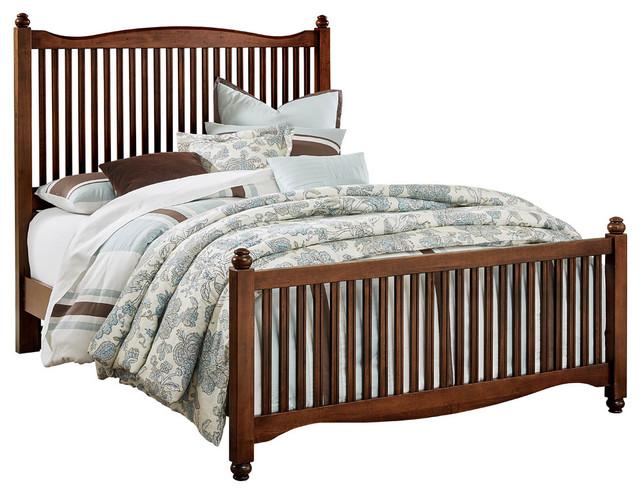 Albert Slat Bed, Queen.