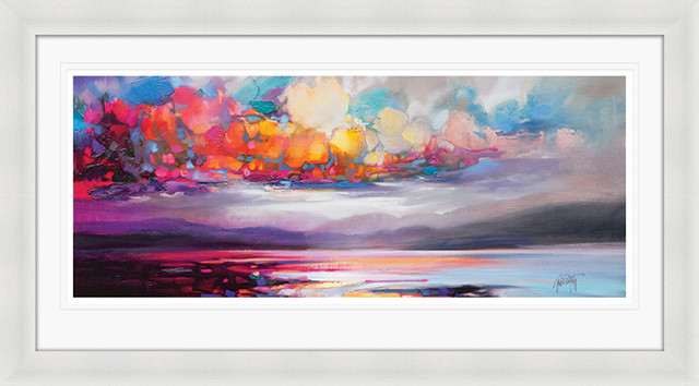 """Stratocumulus"" Framed Print by Scott Naismith, 110x60 cm"