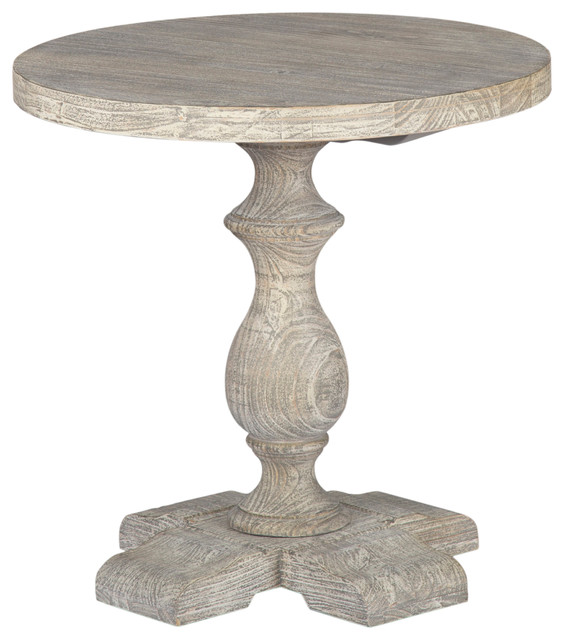 "Westminster 24"" Round End Table  By Kosas Home."