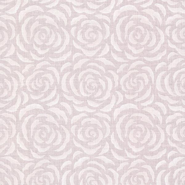 Rosette Lavender Rose Pattern Wallpaper Bolt