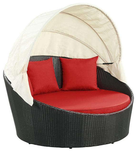 Siesta Canopy Outdoor Patio Daybed.