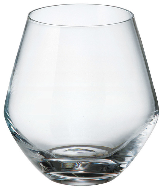 Bohemia Crystal Michelle Stemless Wine Gles
