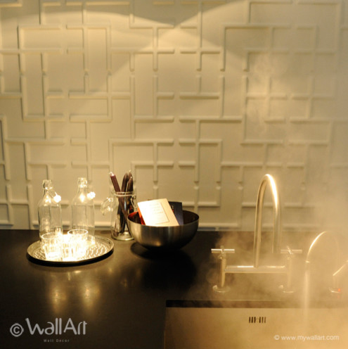 Modern Wallpaper on 3d Wallpanels Model Tetris   Modern   Wallpaper   Amsterdam   By
